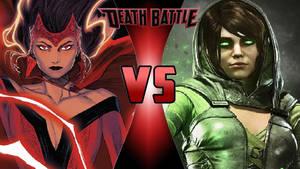Scarlet Witch vs. Enchantress by OmnicidalClown1992