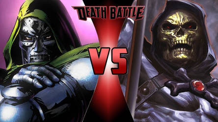 Dr. Doom vs. Skeletor by OmnicidalClown1992