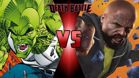 Savage Dragon vs. Luke Cage by OmnicidalClown1992