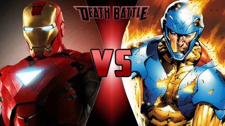 Iron Man vs. X-O Manowar by OmnicidalClown1992