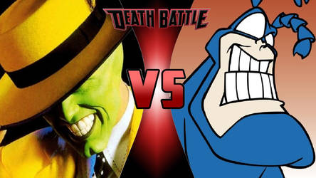 The Mask vs. The Tick by OmnicidalClown1992