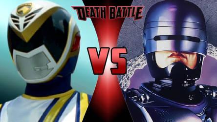 Omega Ranger vs. RoboCop by OmnicidalClown1992