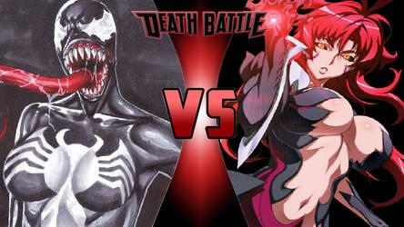 She-Venom vs. Masane Amaha by OmnicidalClown1992