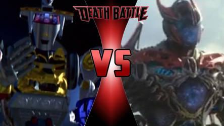 Ninja Megazord (Movie) vs. Dino Megazord (Movie) by OmnicidalClown1992