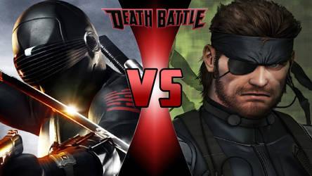 Snake Eyes vs. Big Boss by OmnicidalClown1992