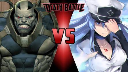 Apocalypse vs. Esdeath by OmnicidalClown1992