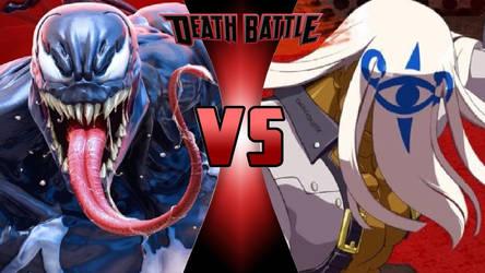 Venom (Marvel) vs. Venom (Guilty Gear) by OmnicidalClown1992