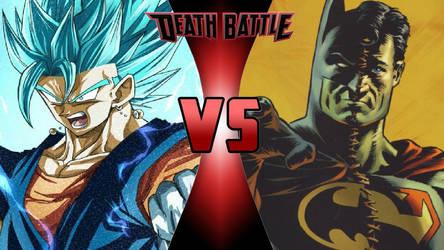 Vegito vs. Composite Superman by OmnicidalClown1992