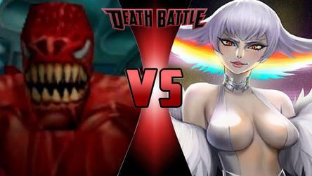 Monster Ock vs. Ragyo Kiryuin by OmnicidalClown1992