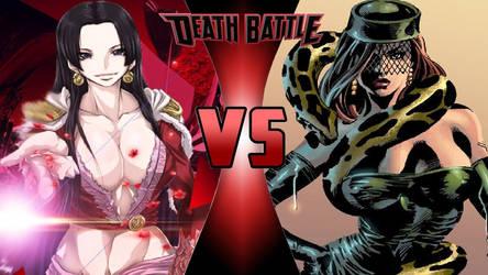 Boa Hancock vs. Princess Python by OmnicidalClown1992