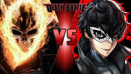 Ghost Rider vs. Akira Kurusu by OmnicidalClown1992
