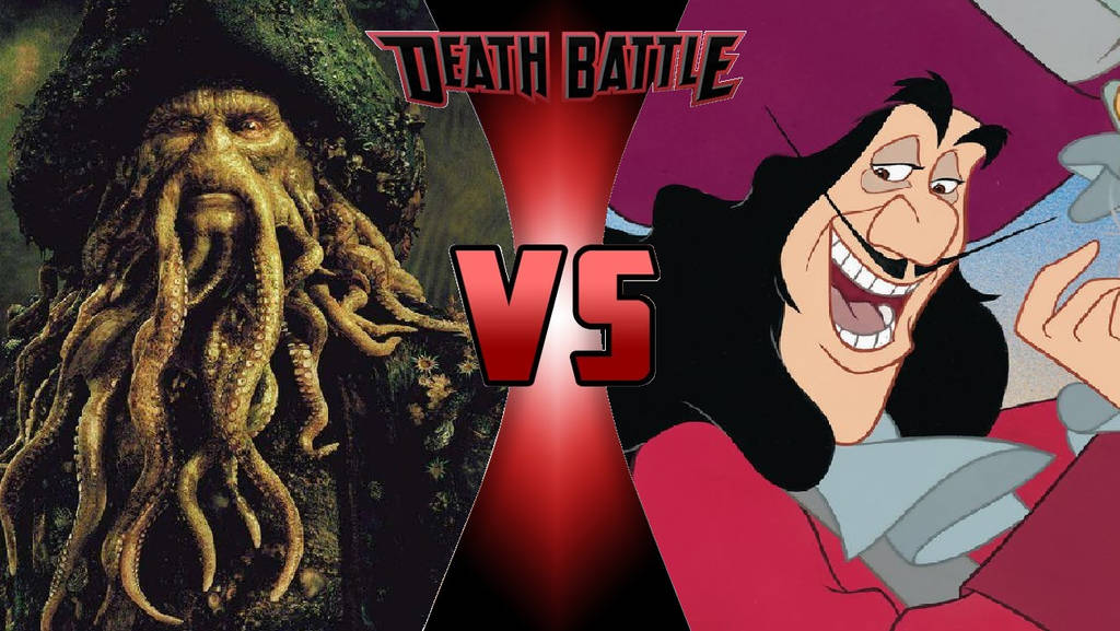 Davy Jones vs. Captain Hook by OmnicidalClown1992
