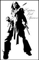 Captain Jack Sparrow by Yasuelf101