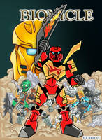 Bionicle 2015: The Coming of the Toa 1 by rubtox