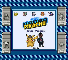 Detective Pikachu Pixel Art by rubtox