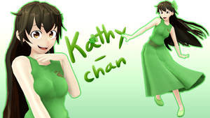 MMD - Kathy-chan v1.0 DL by MagicalPouchOfMagic