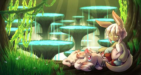 Nanachi and Mitty by MagicalPouchOfMagic