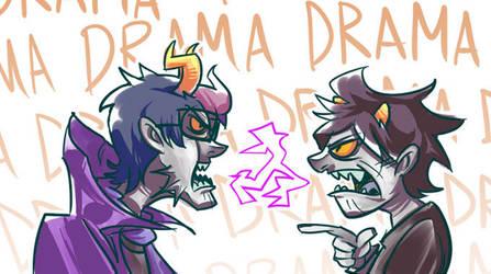 troll drama by wafflebat