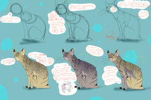 How I Draw A Cat! by Orbins