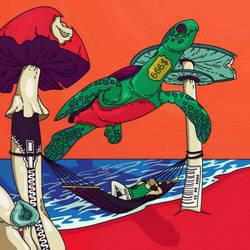 Summer 2014 Turtle's Island by Kibuzaa