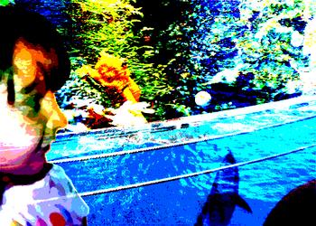 Cassie at the Aquarium by Khrisha