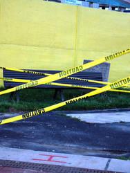 Caution Cross by Khrisha