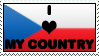 Czech stamp by Tellien