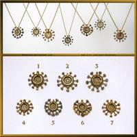 Steampunk Clockwork Pendants by Meowchee