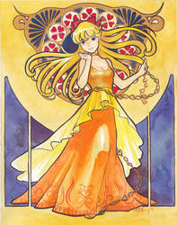 Princess Venus Nouveau by cyanineblu
