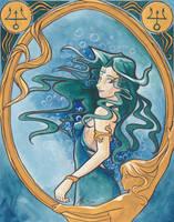 Princess Neptune Nouveau by cyanineblu