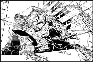 Spidey by Zuniga and Prado by PradoInkworks