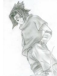 Sasuke from Naruto by RoseSan
