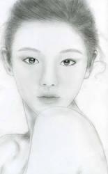 Barbie Hsu drawing by RoseSan