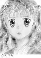 Sana - Kodocha - Edited in PS by RoseSan