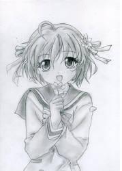 Anime Girl by RoseSan