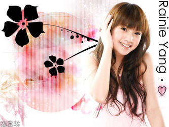 Rainie Yang - Wallpaper by RoseSan