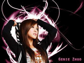Genie Zhuo - Wallpaper by RoseSan