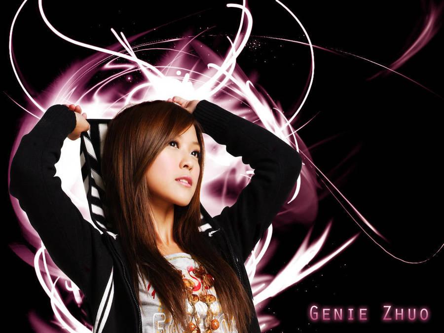 Genie Zhuo - Wallpaper by RoseSan