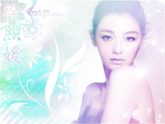 Barbie Hsu - Wallpaper by RoseSan