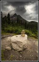 Dewy mountain by xedgerx