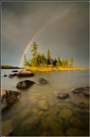October Rainbow by xedgerx