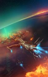 Aurora Battle by WillhelmKranz