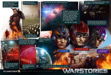 PlanetSide 2 backstory by WillhelmKranz