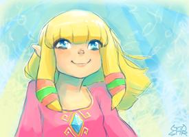 lil Zelda sketch by TOYspence