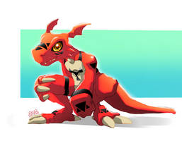 Guilmon by TOYspence