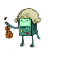 BMO Adventure Time by AnnSGH