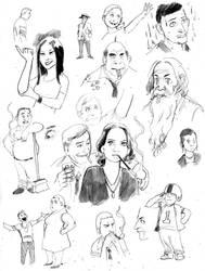 Eisner Studies 3 by cluedog