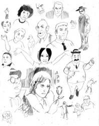 Eisner Studies 4 by cluedog