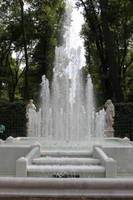 Fountain with stairs by ManicHysteriaStock