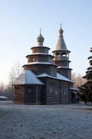 Wooden Church 2 by ManicHysteriaStock